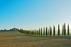 Tuscan landscape Stock Photo