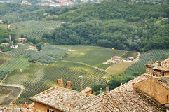 Tuscan Landscape Royalty Free Stock Images