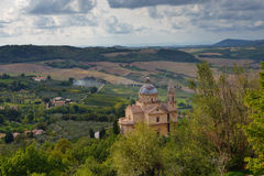 Tuscan landscape Stock Photography