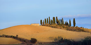 Tuscan landscape Royalty Free Stock Photo