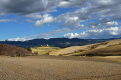 Tuscan landscape Royalty Free Stock Image