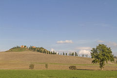 Tuscan landscape in the autumn Royalty Free Stock Images