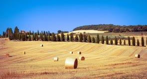 Tuscan landscape Royalty Free Stock Photo