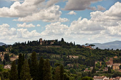 Tuscan landscape Florence, Italy Stock Photos