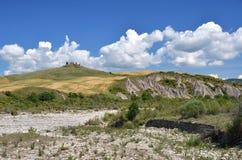Tuscan landscape. Italy Stock Photo