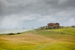 Tuscan landscape in Italy Stock Photo