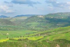 Tuscan landscape near Pienza Stock Image