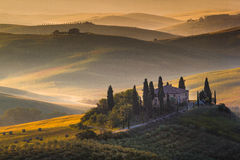 The Tuscan Landscape royalty free stock photos