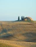 Tuscan liggande Arkivfoton