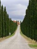 Tuscan liggande Royaltyfri Fotografi
