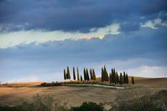 Tuscan liggande Fotografering för Bildbyråer