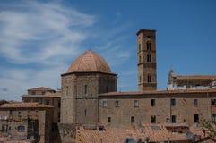 Tuscan liten by Arkivbild