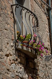 Tuscan liten by Royaltyfri Fotografi