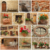 tuscan living style Royalty Free Stock Images