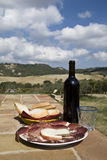 Tuscan Lunch Stock Photography