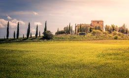 Tuscan manor Royalty Free Stock Photos