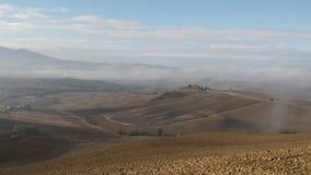 Tuscan morning pan stock footage