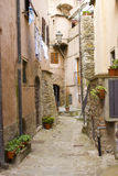 Tuscan nook, Castagneto village Royalty Free Stock Photo