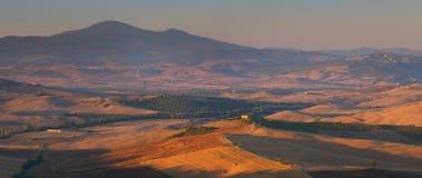 Tuscan panorama Stock Photo
