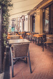 Tuscan restaurant Royalty Free Stock Photography