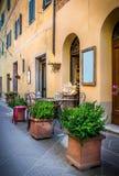 Tuscan restaurant Stock Image