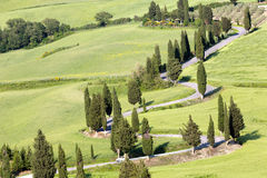 Tuscan roads Royalty Free Stock Image