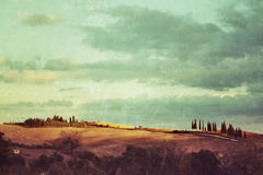 Tuscan rural landscape Stock Photos