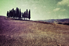 Tuscan rural landscape Royalty Free Stock Photos