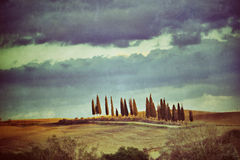 Tuscan rural landscape Royalty Free Stock Images