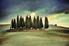 Tuscan rural landscape Stock Images