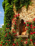 Tuscan slott 04 Royaltyfri Fotografi