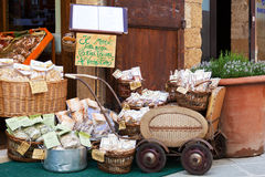 Tuscan souvenirs for tourists Stock Photography