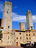Tuscan towers Royalty Free Stock Photos