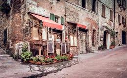 Tuscan trattoria Στοκ Φωτογραφίες