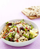Tuscan tuna and bean salad Stock Photo