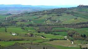 Tuscan typowy krajobraz zbiory wideo