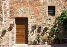 Tuscan utgångspunkt, Italien royaltyfria foton
