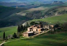Tuscan villa Stock Photos