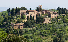 Tuscan village Royalty Free Stock Photo