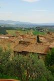 Tuscan village Stock Image