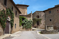 Tuscan village Royalty Free Stock Photos