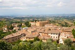 Tuscan Village of San Gimignano, Italy Stock Photos