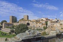 Tuscania Στοκ φωτογραφία με δικαίωμα ελεύθερης χρήσης