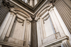 Tuscania Italy. Michael Ángel, Chapel Medicea, New Sacristy of The St Lawrence, Florence Stock Photography