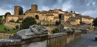 Tuscania, Lazio, Italy Stock Photography