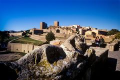 Tuscania, province of Viterbo, Latium, Italy, Europe stock photos