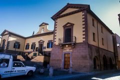 Tuscania, province of Viterbo, Latium, Italy, Europe royalty free stock photos