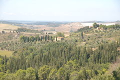 Tuscany. View of Tuscany, most beautiful part of Italy Royalty Free Stock Photos