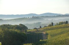 Tuscany. View of Tuscany, most beautiful part of Italy Royalty Free Stock Images