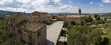 Tuscany. A little village in Tuscany, Italy Stock Images